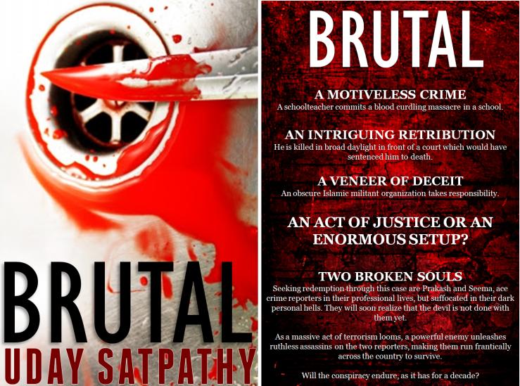 Brutal Book Cover